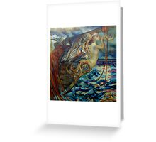 figurehead or ... fishing Greeting Card