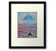 Below Mt Fuji Framed Print