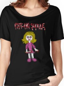 Psycho Suzie Doll  Women's Relaxed Fit T-Shirt