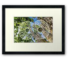 Infinity Squares + Edison NJ Framed Print