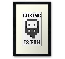 Dwarf Fortress - Losing is Fun! Framed Print