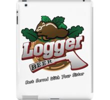 Logger Beer Tee from Grand Theft Auto - GTA iPad Case/Skin