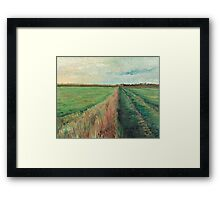 Provence Villa Framed Print