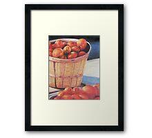 Farmer's Market Produce Framed Print