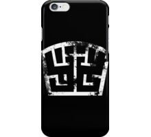 SOLDIER white grunge iPhone Case/Skin