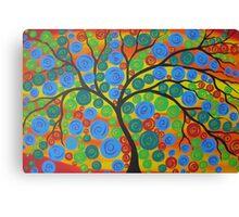 Tree of Life- Summer Canvas Print