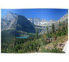 Glacier National Park: Grinnel Lake Poster
