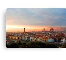 Lost in Florence Canvas Print