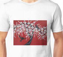 Red sakura bliss Unisex T-Shirt