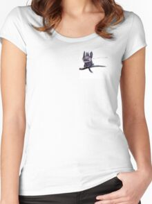 Aggrieve Women's Fitted Scoop T-Shirt