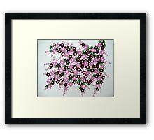 sakura branch Framed Print
