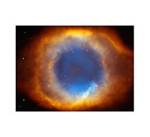 The Eye Of God-Helix Nebula Close Up by Eti Reid