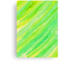 Green Sheet Canvas Print