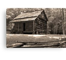 John Ownby's Cabin Canvas Print