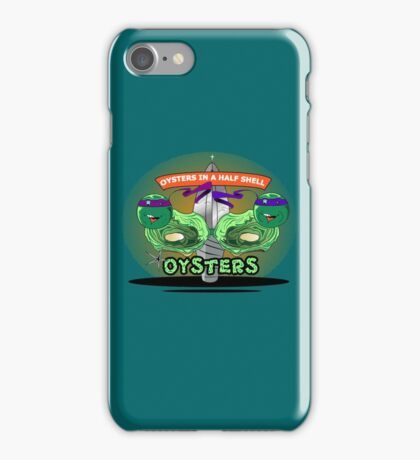 Oysters In A Half Shell iPhone Case/Skin