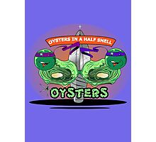 Oysters In A Half Shell Photographic Print