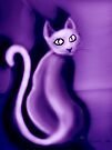 Purrple Pussy  by dimarie