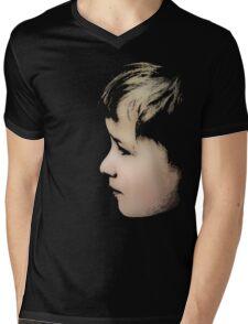 Little boy (T-Shirt & iPhone case) Mens V-Neck T-Shirt