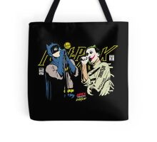 The Post-Punk Face-Off Tote Bag