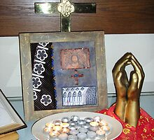 Prayerathon Altar Number One by Lauren Heather Lay