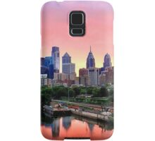 Colorful Philly Skyline Samsung Galaxy Case/Skin