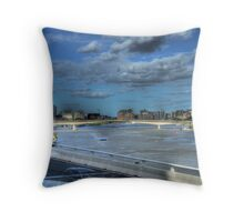 Brisbane River Throw Pillow