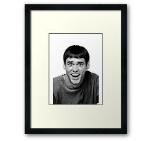 Jim Carrey from Dumb and Dumber Framed Print