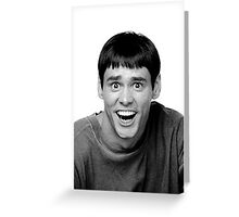 Jim Carrey from Dumb and Dumber Greeting Card