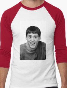 Jim Carrey from Dumb and Dumber Men's Baseball ¾ T-Shirt