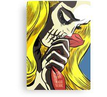 The Love Bones Metal Print