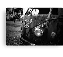 rust bus Canvas Print