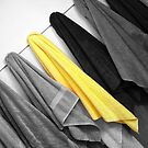 Yellow Towel by Rebecca Cozart