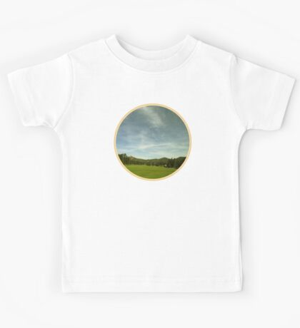 Digital Landscape #9 Kids Tee