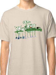 Monkey Dinner t-shirt Classic T-Shirt