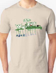 Monkey Dinner t-shirt Unisex T-Shirt
