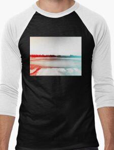 Digital Landscape #10 Men's Baseball ¾ T-Shirt