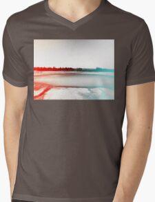 Digital Landscape #10 Mens V-Neck T-Shirt
