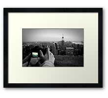 Tourist Town Framed Print