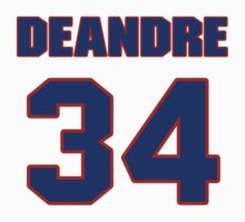Basketball player DeAndre Liggins jersey 34 by imsport