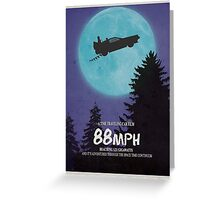 88mph (ET Movie Poster Parody) Greeting Card
