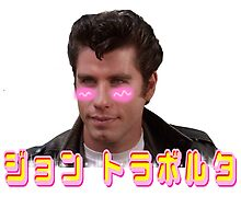 Kawaii Travolta by agirlandherpug