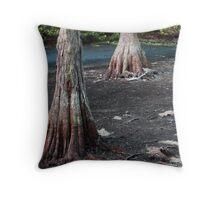 Cypress Trees.... Throw Pillow