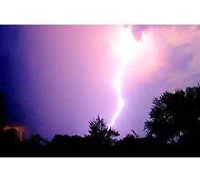 THUNDER AND LIGHTNING  ! Photographic Print