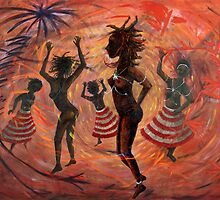 African Ritual Dance by artyjoy