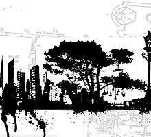 city suicide by Imogene Munday
