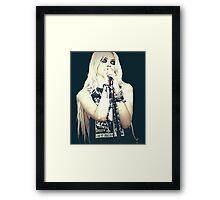 Taylor Momsen Framed Print