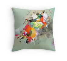 Fresh Funk Juices Throw Pillow