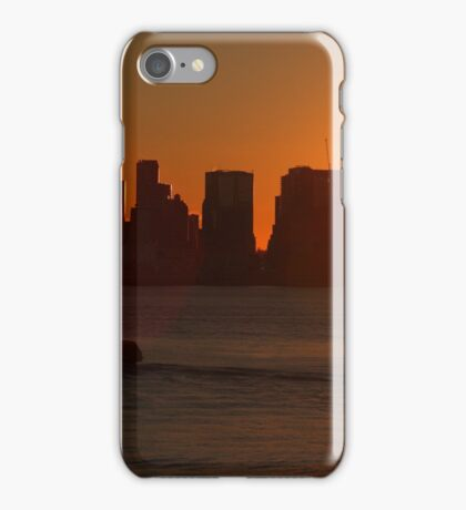 Vancouver sunset iPhone Case/Skin