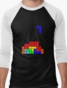 Tetris Men's Baseball ¾ T-Shirt