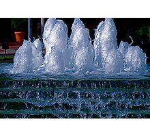 Ice Sculptures Photographic Print